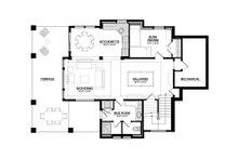 Traditional Floor Plan - Lower Floor Plan Plan #928-11