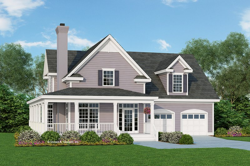 Architectural House Design - Country Exterior - Front Elevation Plan #929-333