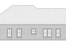 House Plan Design - Craftsman Exterior - Rear Elevation Plan #932-25