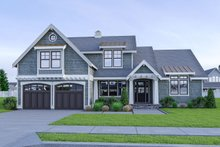 House Plan Design - Craftsman Exterior - Front Elevation Plan #1070-58