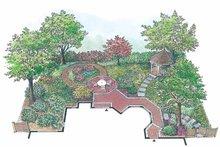 Exterior - Rear Elevation Plan #1040-97