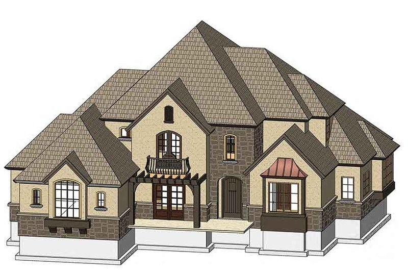 Country Exterior - Front Elevation Plan #937-33 - Houseplans.com