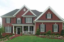 Traditional Exterior - Front Elevation Plan #54-307