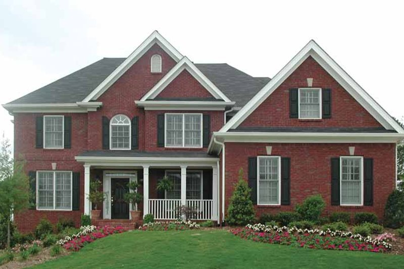 Home Plan - Traditional Exterior - Front Elevation Plan #54-307