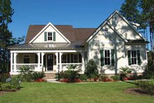 House Plan Design - Country Exterior - Front Elevation Plan #54-287