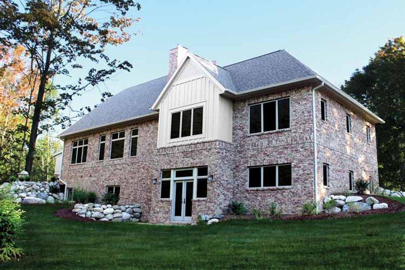 Craftsman Exterior - Rear Elevation Plan #928-227 - Houseplans.com