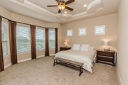 European Style House Plan - 4 Beds 4 Baths 3040 Sq/Ft Plan #80-200 Interior - Master Bedroom