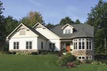 House Plan Design - European Exterior - Front Elevation Plan #928-141