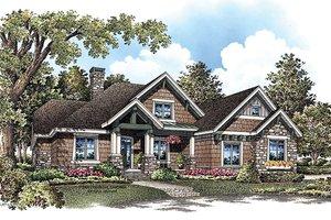 Craftsman Exterior - Front Elevation Plan #929-908