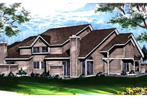 Contemporary Exterior - Front Elevation Plan #320-330