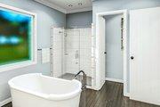 Cottage Style House Plan - 3 Beds 2 Baths 1782 Sq/Ft Plan #406-9657 Interior - Master Bathroom