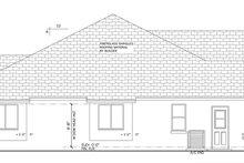 House Plan Design - Mediterranean Exterior - Other Elevation Plan #1058-41