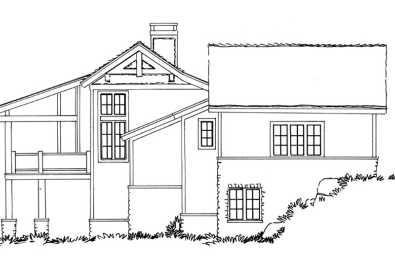 Country Exterior - Other Elevation Plan #942-24 - Houseplans.com