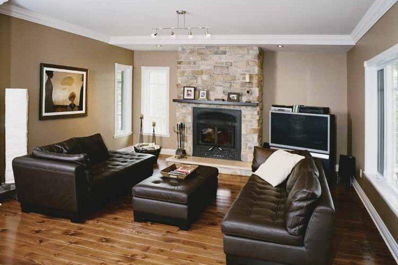 Victorian Interior - Family Room Plan #23-2351 - Houseplans.com