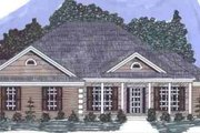 Southern Style House Plan - 4 Beds 3 Baths 2156 Sq/Ft Plan #69-150 Exterior - Front Elevation