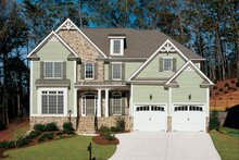 House Design - Traditional Exterior - Front Elevation Plan #927-598