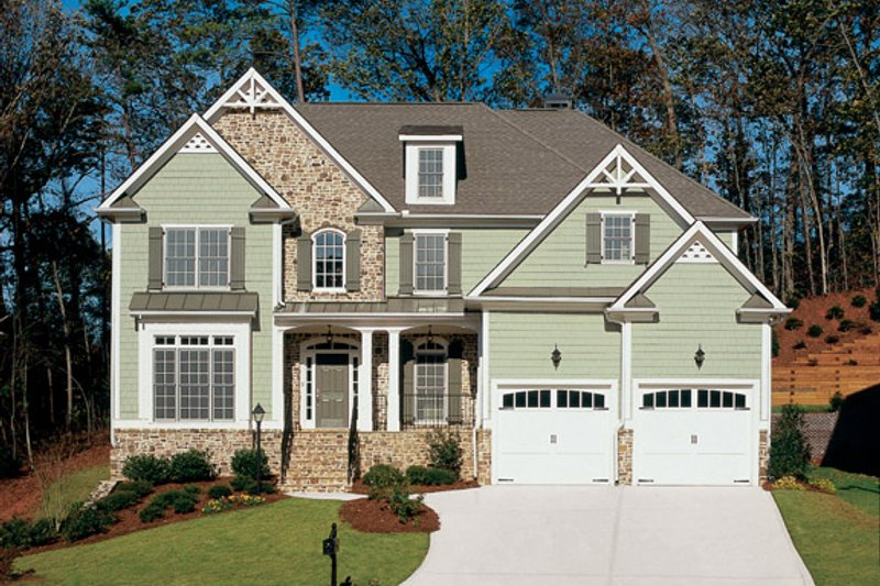 Traditional Exterior - Front Elevation Plan #927-598 - Houseplans.com