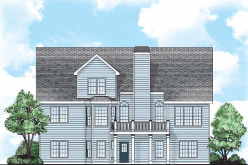 Country Exterior - Rear Elevation Plan #927-901 - Houseplans.com