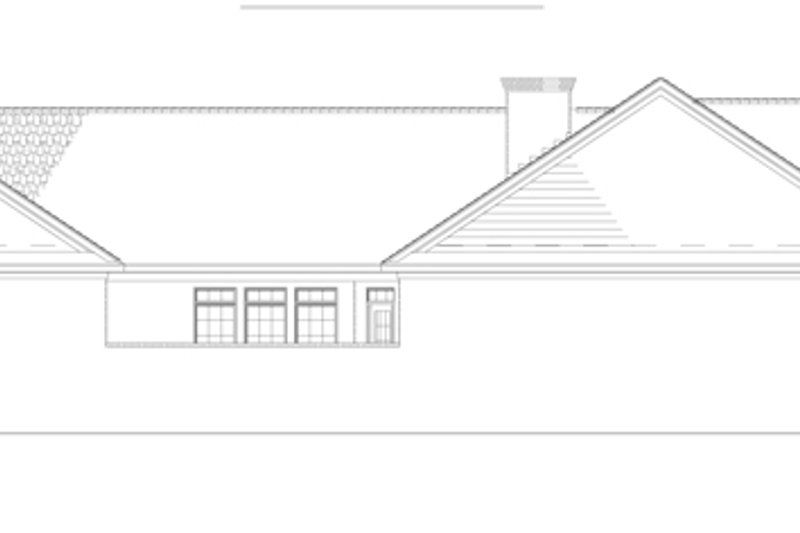 Country Exterior - Other Elevation Plan #17-2903 - Houseplans.com