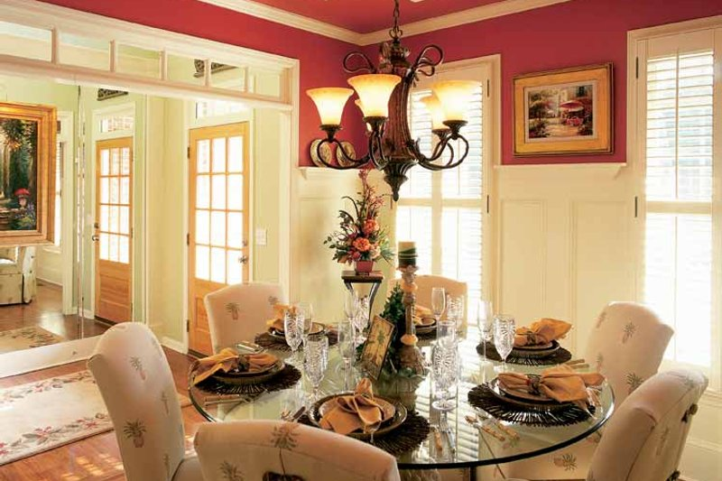 Colonial Interior - Dining Room Plan #927-872 - Houseplans.com