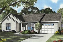 House Plan Design - Country Exterior - Front Elevation Plan #17-3162