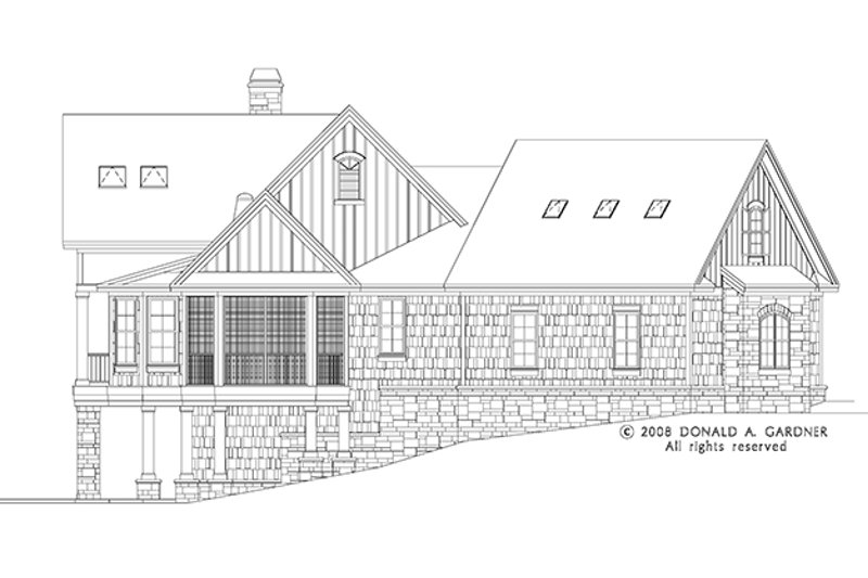 European Exterior - Other Elevation Plan #929-906 - Houseplans.com