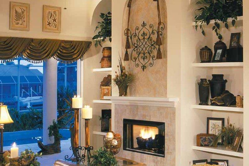 Mediterranean Interior - Family Room Plan #930-318 - Houseplans.com
