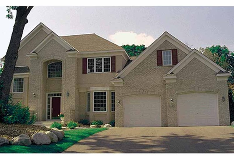 Traditional Exterior - Front Elevation Plan #51-949 - Houseplans.com
