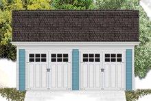 Dream House Plan - Exterior - Front Elevation Plan #306-130