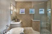 Mediterranean Style House Plan - 3 Beds 3 Baths 3648 Sq/Ft Plan #930-449 Interior - Master Bathroom