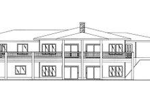 Contemporary Exterior - Rear Elevation Plan #117-842
