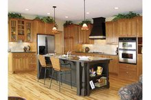 Craftsman Interior - Kitchen Plan #320-1006