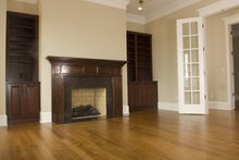 Classical Interior - Family Room Plan #137-301