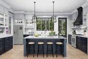Cottage Style House Plan - 4 Beds 2 Baths 2480 Sq/Ft Plan #406-9656 Interior - Kitchen