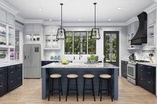 Cottage Interior - Kitchen Plan #406-9656