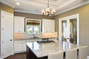 Country Style House Plan - 3 Beds 2.5 Baths 2605 Sq/Ft Plan #938-64 Interior - Kitchen