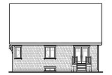 Dream House Plan - Traditional Exterior - Rear Elevation Plan #23-786