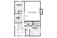 Country Floor Plan - Upper Floor Plan Plan #17-3380
