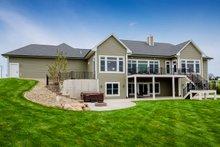 Architectural House Design - Ranch Exterior - Rear Elevation Plan #70-1501