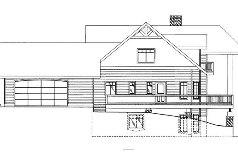 Craftsman Exterior - Other Elevation Plan #117-841 - Houseplans.com