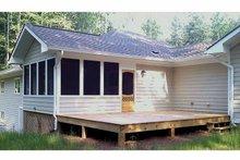 Ranch Exterior - Outdoor Living Plan #939-8