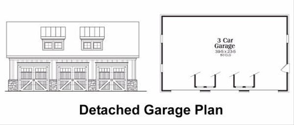 Craftsman Floor Plan - Other Floor Plan Plan #419-147