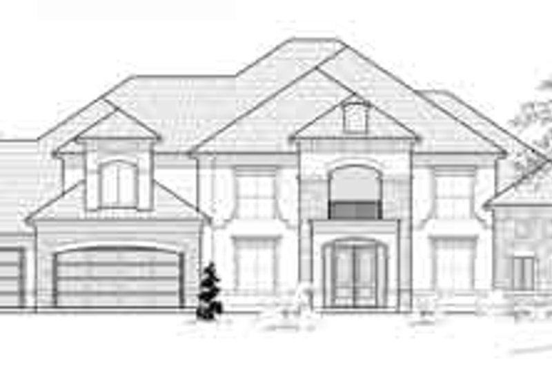 Traditional Exterior - Front Elevation Plan #61-378 - Houseplans.com