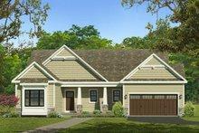 House Plan Design - Ranch Exterior - Front Elevation Plan #1010-221