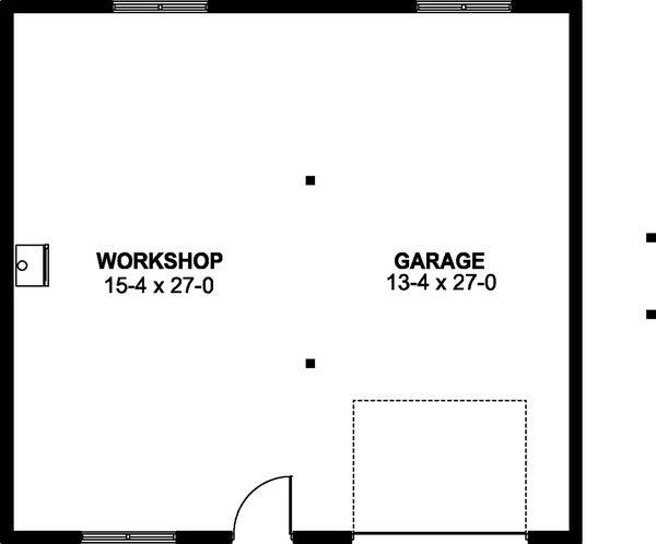Farmhouse Floor Plan - Main Floor Plan Plan #126-206