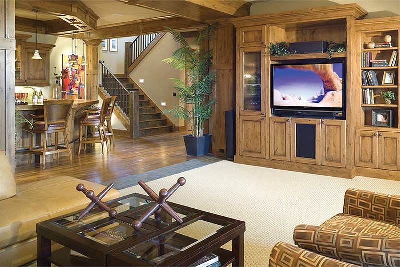 Theater - 5100 Square foot Craftsman home