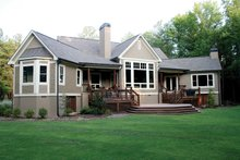 Craftsman Exterior - Rear Elevation Plan #929-889