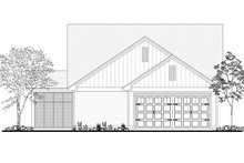Craftsman Exterior - Rear Elevation Plan #430-174