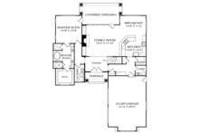 Craftsman Floor Plan - Main Floor Plan Plan #453-625