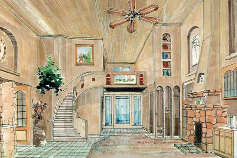 Prairie Interior - Entry Plan #509-416 - Houseplans.com